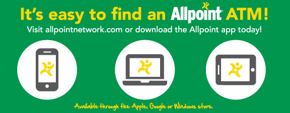 Allpoint - Surcharge-Free ATM Network | Metro Federal Credit